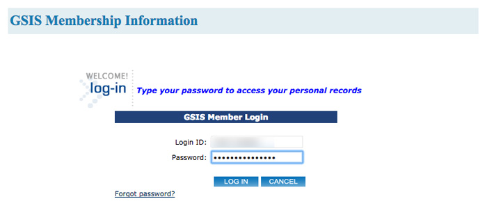 How to Check GSIS records Online