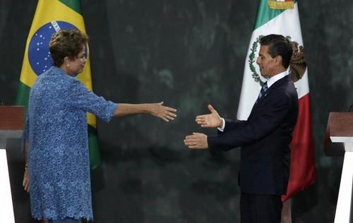 Pactos abren un nuevo camino entre México y Brasil: Peña