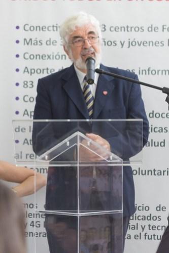 Padre Manuel Aristorena Director General de Fe y Alegría