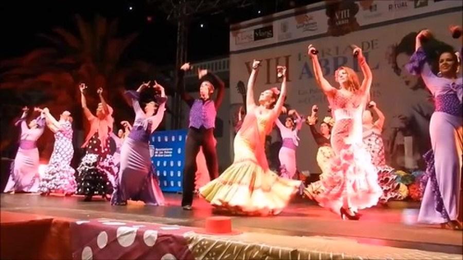 Escuela de Paulina VIII Feria de Abril Las Palmas de Gran Canaia