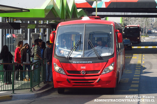 Transantiago - Redbus Urbano - Neobus Thunder / Mercedes Benz (CJRS29)