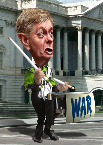 Lindsey Graham - Beating the Drum for War