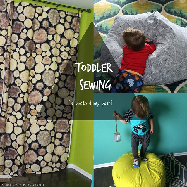 sewing for a toddler boy