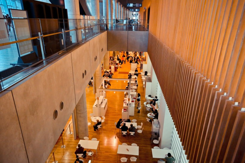 国立新美術館 THE NATIONAL ART CENTER, TOKYO (黑川紀章)