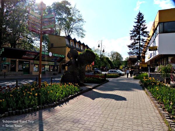 Szczawnica town centre