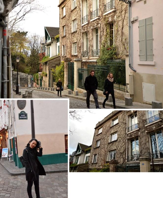 Montmartre, Paris, photography, architecture, paris street, winter