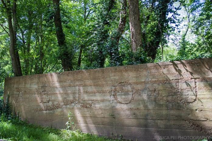AEIOU Vowels Laumeier Sculpture Park