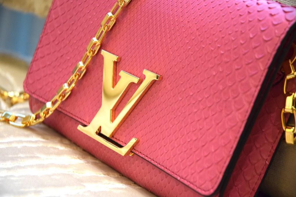 Louis Vuitton Exotic Bag Python