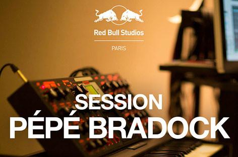 Red Bull Studios Paris Session : Pepe Bradock