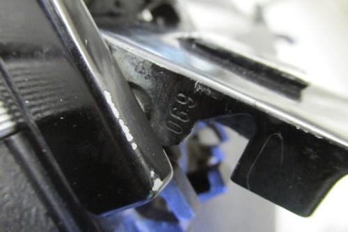 Pannier #1 Latch Locks Use Key #069