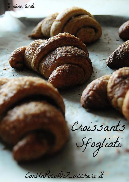 WHOLEWHEAT SOURDOUGH CROISSANTS - Croissants integrali al caffè con lievito madre