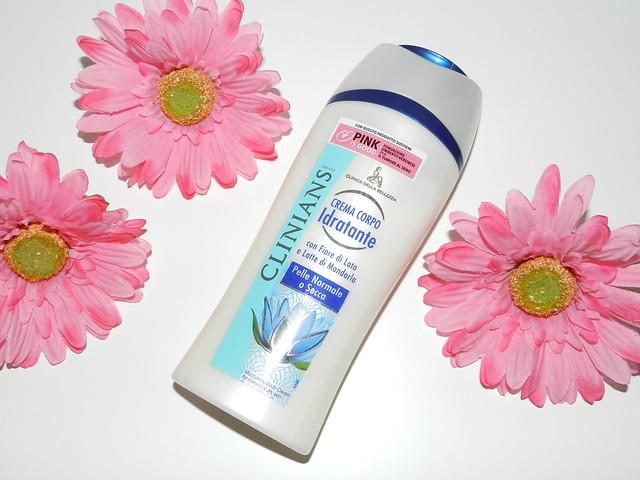 rigenerare la pelle: idratante corpo clinians