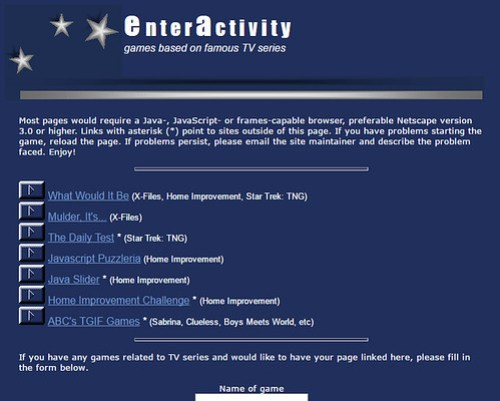 enteractivity