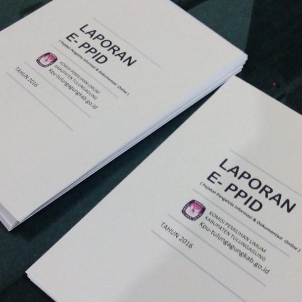 Laporan e-PPID KPU Tulungagung telah terselesaikan