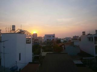 Saigon sunsets