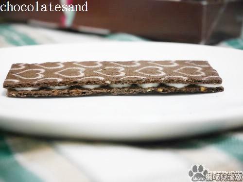 銀のぶどうのチョコレートサンド