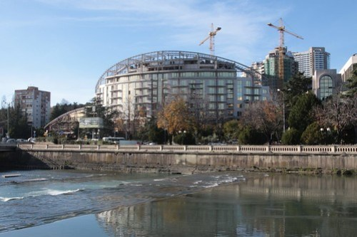 More new buildings under construction in Sochi