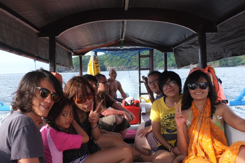 back to Lombok