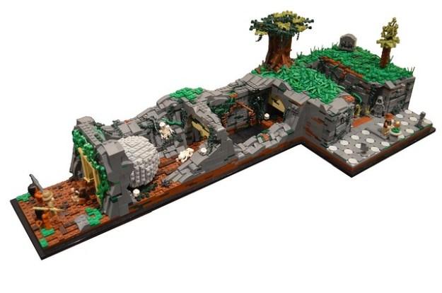 Lego Indiana Jones Temple Escape Instructions
