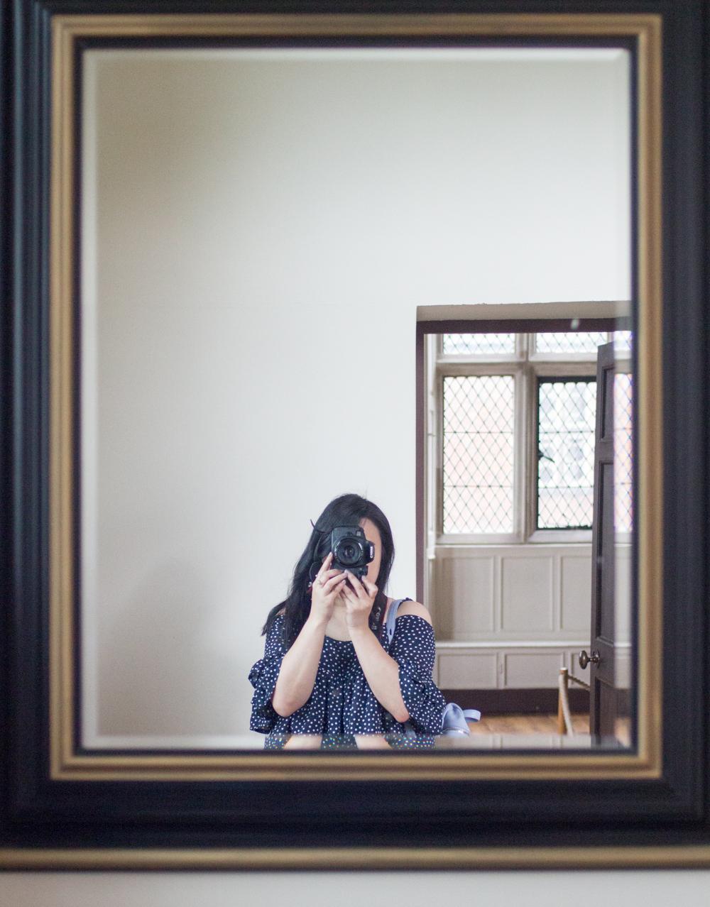 Aston Hall Birmingham Mirror shot