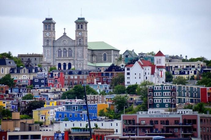 Mais Belas Cidades do Canadá para Morar st. john's newfoundland and labrador