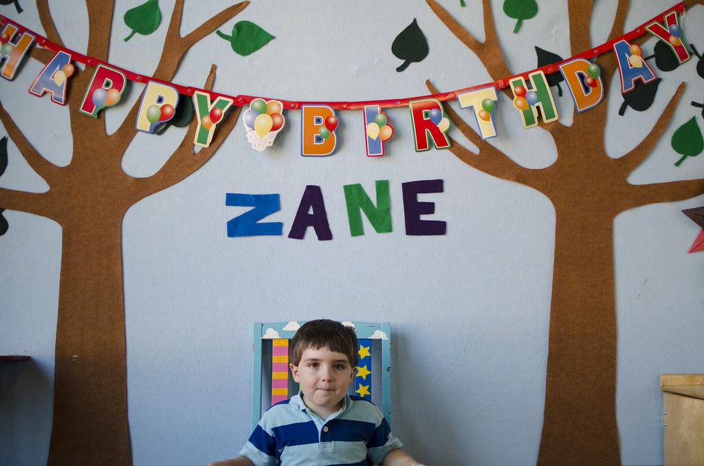 zane birthday banner