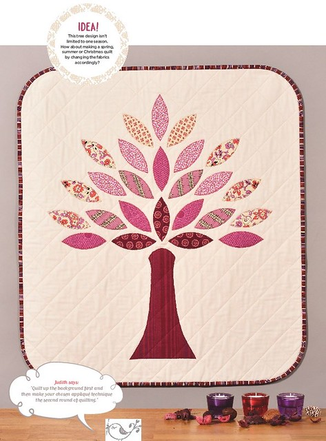 Autumn Tree Wallhanging (Pretty Patches Oct16 issue)