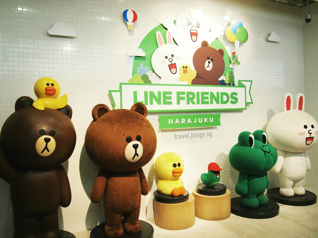 Line Friends Harajuku 4 - travel.joogo.sg