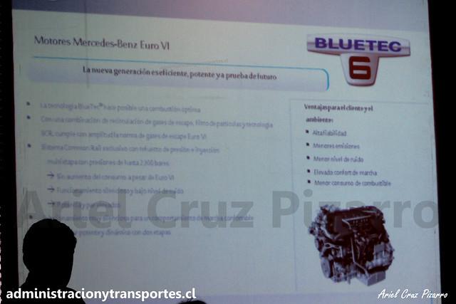 Presentación MB OC500 LE