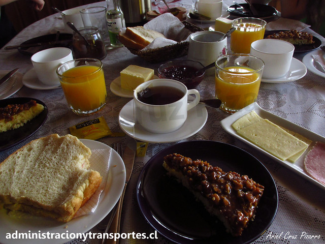Hostal Erika (Puerto Varas) / Desayuno
