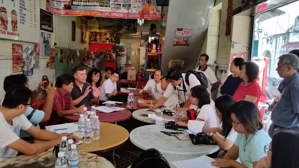 World Class Land evictint tenants in Lorong Bertam area.