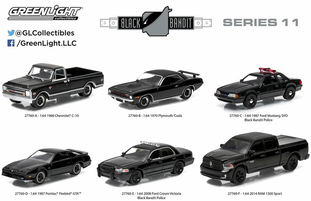 Black Bandit :: GreenLight Collectibles