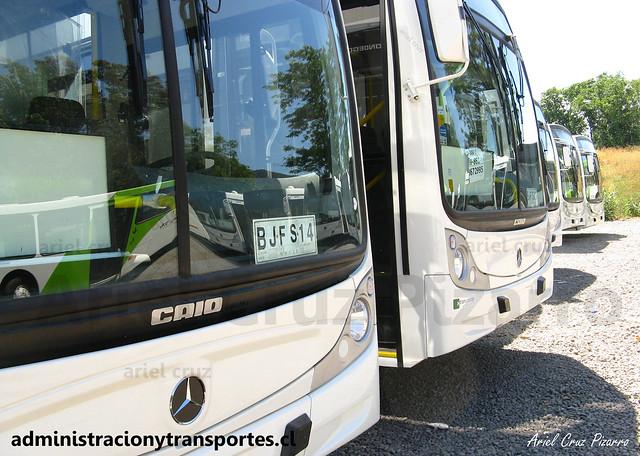 Transantiago - Buses Vule - Caio Mondego H / Mercedes Benz (BJFS14)