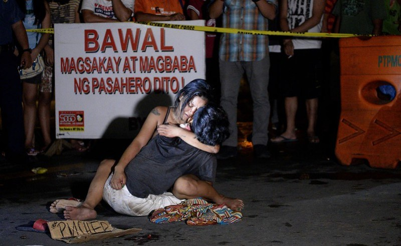 Suspected drug killer on Edsa