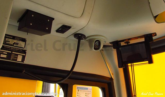 Cámaras de seguridad Nuevo Bus Transantiago
