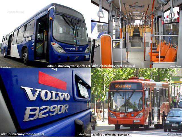 Transantiago | Marcopolo Gran Viale 13.2 - Volvo B290R LE