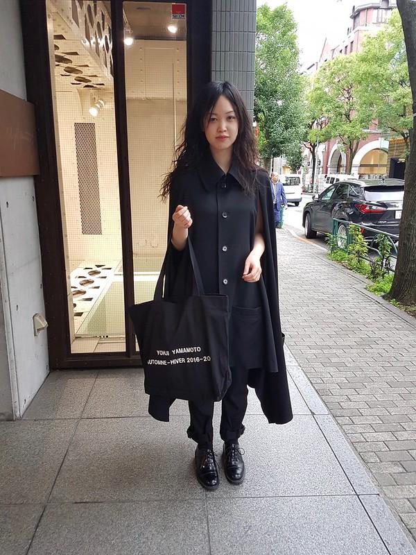Minami at Yohji