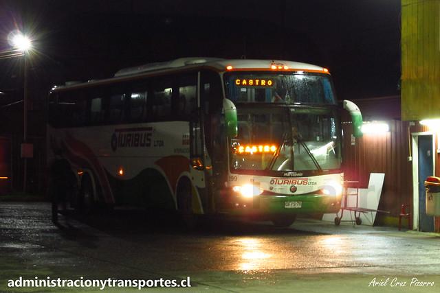 Turibus Internacional (CDS) | Castro (Chiloé) | Marcopolo Paradiso 1200 - Scania / CBPS75 - 299