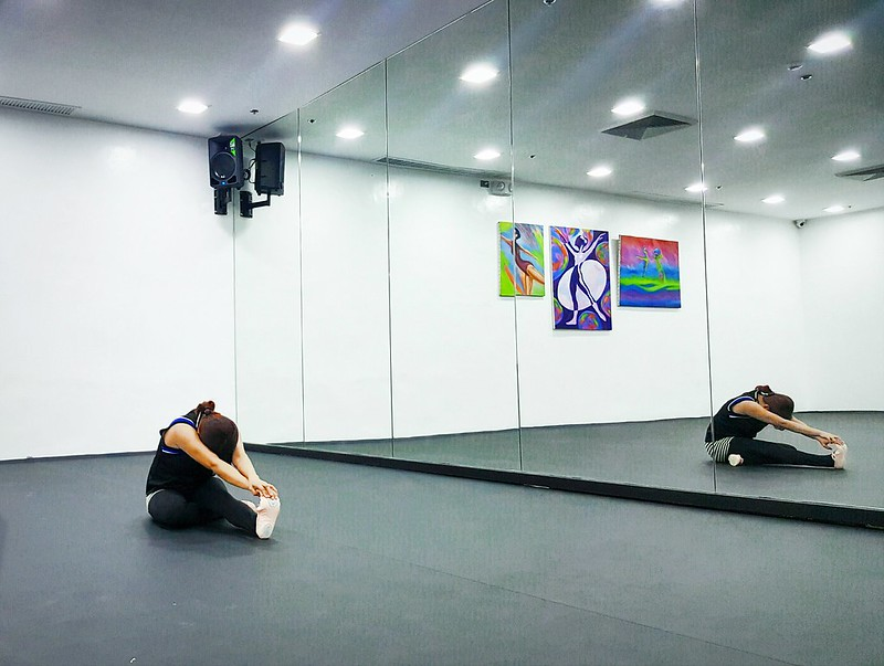Ballet class with Lisa Macuja