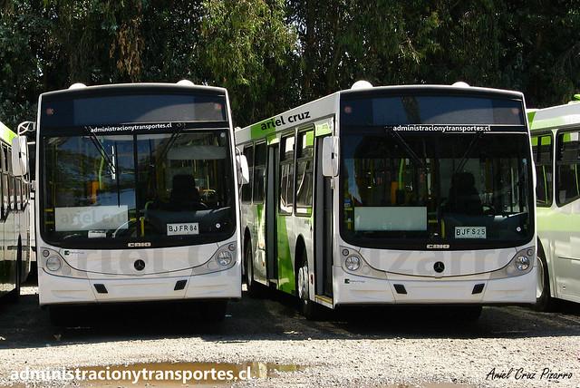 Transantiago | Buses Vule | Caio Mondego H - Mercedes Benz O500U / BJFR84 - BJFS13