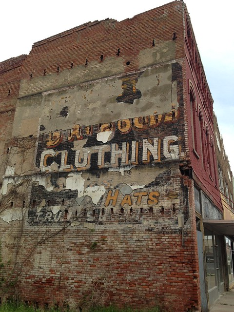 Ghost Sign, Helena AR