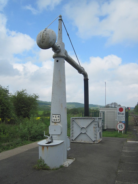 Battersby Junction, 1907 Water Column