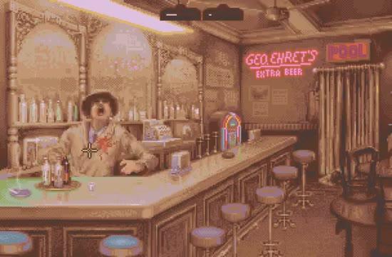 The Godfather bar shootout