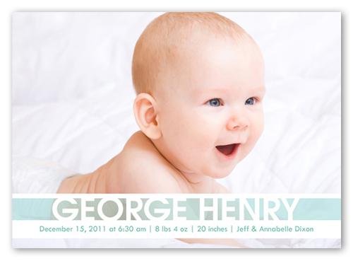 Announcing Baby Boy Birth Announcement Announcements