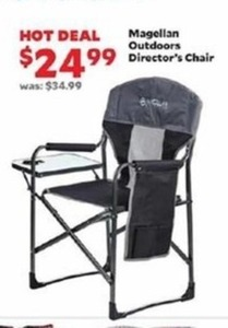 saucer chairs sam s club pvc pipe lounge chair magellan outdoors director 24 99 at academy sports on
