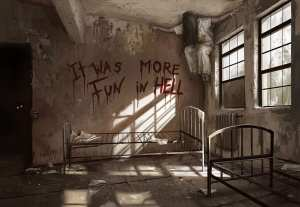 horror koidl stefan blood haunted asylum bed asylums creepy hell fun artstation paintings paranormal scary ilustraciones myths fantasy google dark