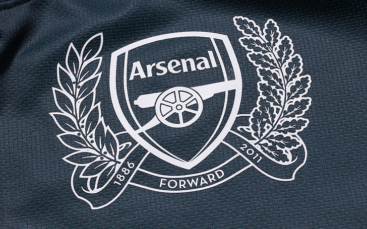 black and white arsenal forward textile