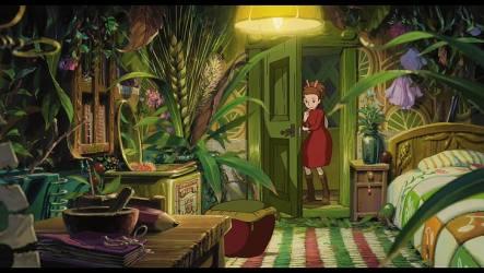 HD wallpaper: anime arrietty beds doors flowers interior karigurashi Wallpaper Flare