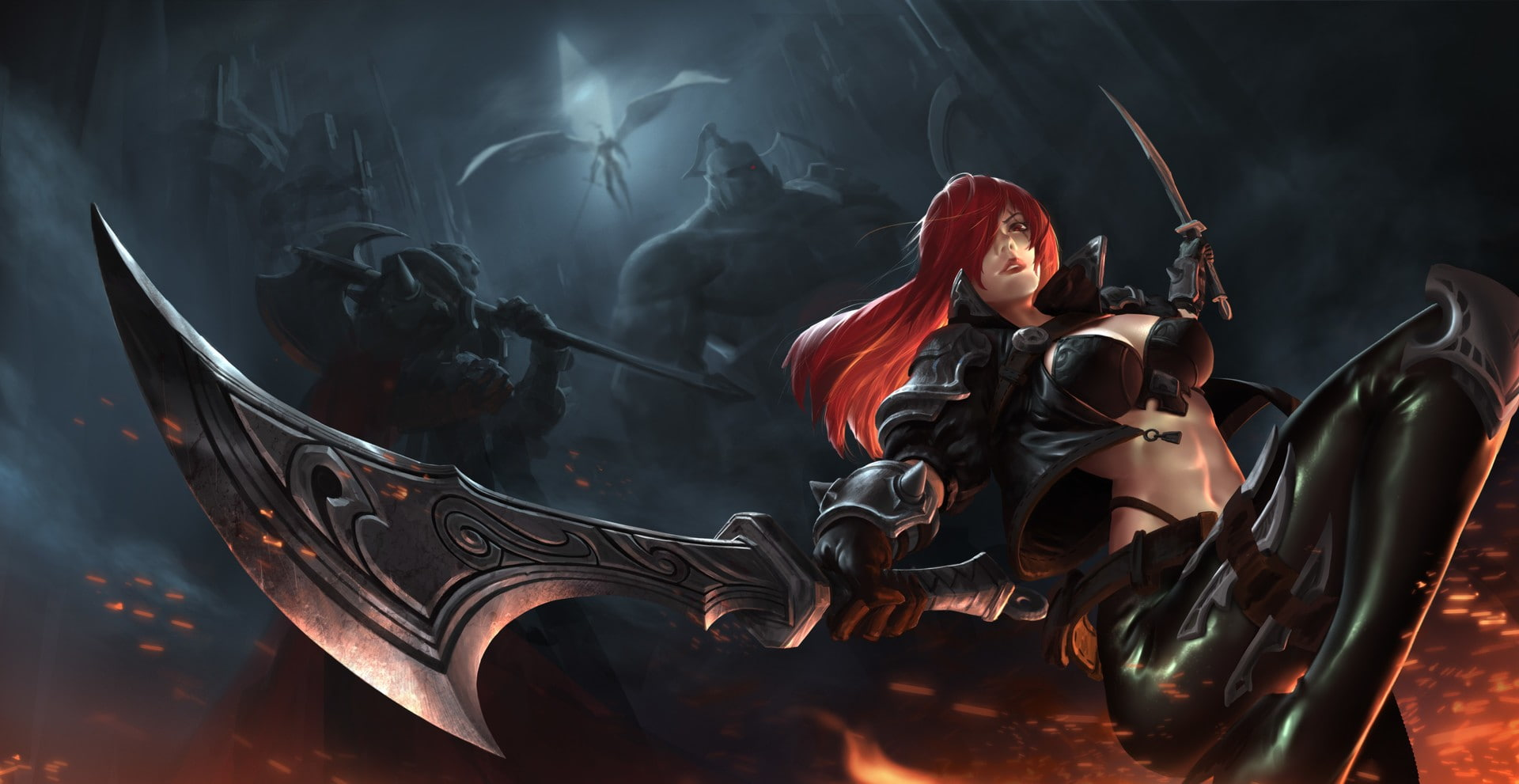 Dual Monitor Wallpaper League Of Legends Wengerluggagesave