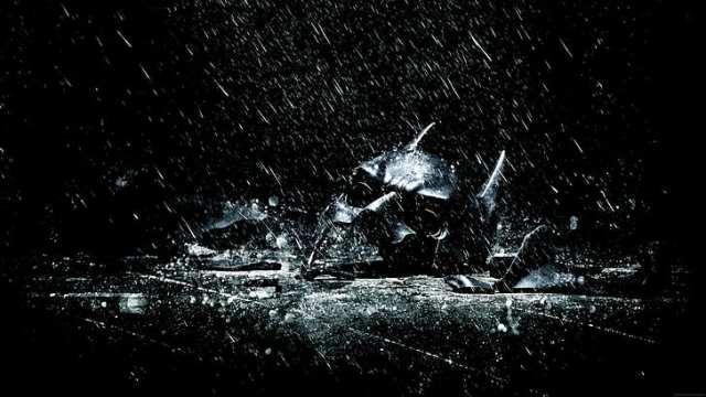 The Dark Knight Rises promotional art
